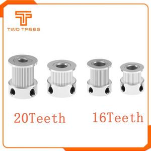3D Printer Parts & Accessories 5pcs lot 3D Printer GT2 20 16 20 Teeth Bore 5 8mm Timing Alumium Pulley Fit for GT2-6mm