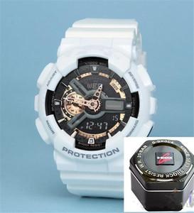 Moda nuovo G110 influenza militare ora marchio mano sport cronografo LED nuova vigilanza maschio campeggio orologio ri maschile silicone impermeabile