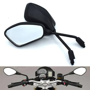 1 double universal Motorcycle 10mm Rearview Mirror Moto Mirror For YZF R1 R6 R6S YZF-R25 YZF-R3 YZF R125 YZF-R5