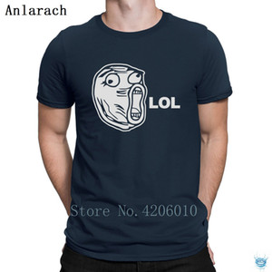 Lol Meme Tshirts Hilarious Designing Fashion 100% Cotton Men's Tshirt Tee Tops Fitness Anlarach Standard