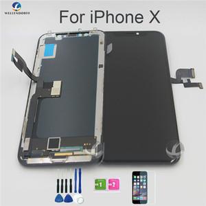 아이폰 XR TFT LCD 100 % 테스트 아니 죽은 픽셀의 천마를 들어 아이폰 X XS XR 기존 LCD 디스플레이 OEM 터치 스크린 디지타이저 어셈블리 교체