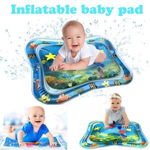 Alfombrilla de juego de agua inflable para niños Alfombra de juego para bebés Deporte educativo Alfombrillas de manta Alfombrillas para niños Alfombra 66 * 50 cm
