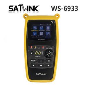 SATLink WS6933 ЖК-дисплей спутниковый счетчик спутниковый счетчик спутникового телевидения Digital Satellite TV приемник с компасом Цифровой спутниковый сигнал Finder Meter