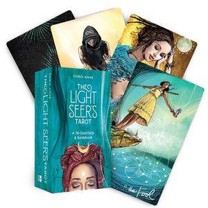 78Pcs Light Seer's Tarot Card Games English Edition Mysterious Tarot Board Game Family Party Cards Game Tarot Deck