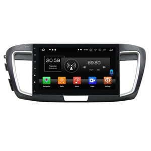 "10.1"" Android 8.0 Car DVD Player for Honda Accord 9 2013 2014 2015 2016 2017 RDS Radio GPS Bluetooth WIFI USB Mirror-link 4GB RAM 32GB ROM"
