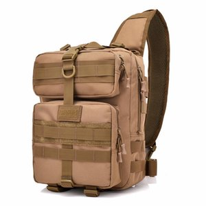 Lucky2019 Tactical Chest Single Shoulder Crossbody Bag Hot Quality Oxford Riding rs Army Camouflage Large Capacity Packs