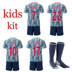 NOUVEAU 2020 enfants T T-shirt NERES BLIND TADIC Aias ZIYECH DE BEEK broderie de haute qualité 2021 enfants Chemise