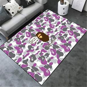 Камуфляж Ape печати Ковер Новый Популярный стиль Обезьяна Pattern Ковровые европейской и американской моды большой ковер