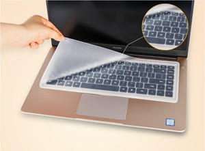 Su geçirmez Laptop klavye koruyucu film 15 laptop klavye kapak 15.6 17 14 dizüstü klavye kapak toz geçirmez film silikon
