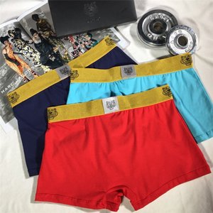 2020Luxury Plus Size Sexy Boxer Long Leg Print Hollywood Ethika Mens Underwear Men Knee Length Beach Underpants Man
