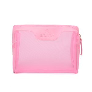 HPB Handbag Multifunction Bags Cosmetic Bag Plain Fashion Lovely Personality Silk Screen PU Letter Hollow Out Women Purse