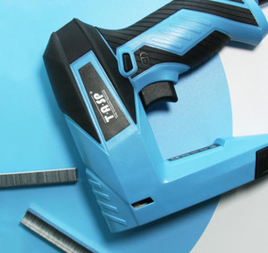TASP 230V 2 In 1 Electric Nailer and Stapler Furniture Staple Gun for Frame with Staples & Nails Carpentry Woodworking Tools Sweet07
