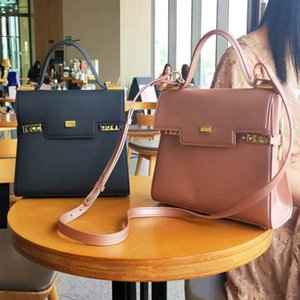 Wholesale New Original Fashion red green black pink Top High Quality Lock Handbags Real Women Bag Evening Bags Totes