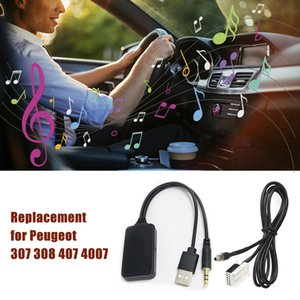 Автомобиль Aux USB BT адаптер RD4 Aux в Audio Cable Replacement для 307 308 407 4007