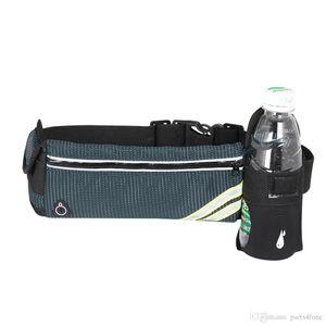 Outside waist bag, waterproof sport bag, big size with fold able water bottle pocket