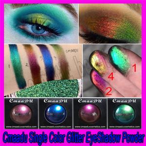 .2019 CmaaDu 4 Colores Mujeres Atractivas Brillo Sombra de Ojos En Polvo Diamante Labios Ojos Sueltos Pigmento Brillo Metálico Cosméticos envío gratis