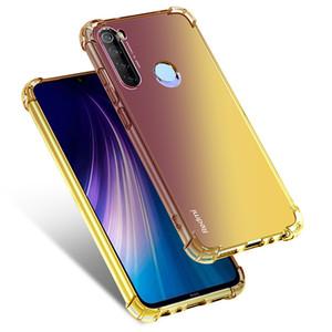 sfumatura di colore di caso per Xiaomi CC9 CC9E A3 Nota 10 redmi Nota 8 8T K20 Pro 7A 8A Arcobaleno morbido Coque
