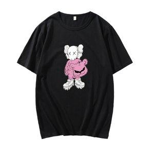 Marka erkekler Pamuk susam Sokak Elmo T Shirt erkekler Yuvarlak boyun Beyaz Siyah sarı kısa kollu T Shirt boyutu özelleştirilmiş T Shirt S-3XL