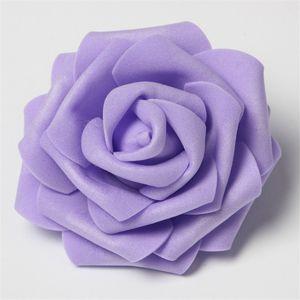 30pcs lot 8cm Artificial Flower Pe Foam Rose Heads For Decorative Wreaths Wedding Event Party Decoration Home Garden Supplies 9
