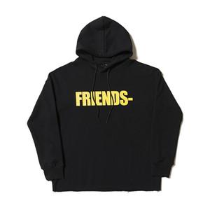 2019 Vlone Hoodie Mens Stylist Sweatshirt Trend-Qualitäts-Sweat Männer Frauen Stylist Pullover Größe S-XL