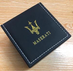 Atacado Maserati Original Box Navio Esporte Relógios Strap malha de aço Designer Quartz Movement Cheap Venda presente Relógio de pulso Montre Homme