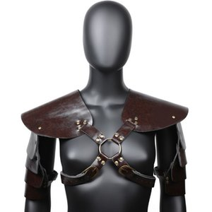 Men Body Chest Harness Shoulder Arm Sheath For Party Cosplay Halloween