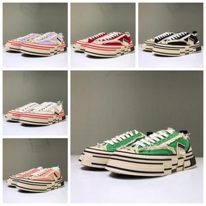 XVessel G.O.P. Bas chaussures de toile mens femmes TOP qualité designer de mode navire Tripe S pièce par chaussures de vitesse de pièce
