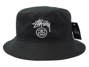 جديد وصول الأزياء دلو قبعة لرجل إمرأة طوي الصيد قبعات الأسود الصياد شاطئ الشمس قناع بيع للطي رجل قبعة الرامي