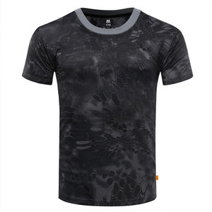 New Fishing T Shirt Fishing Heartbeat T-Shirt Fishing Tee Shirt Basic Men Cute Quick Dry Short Sleeves Camouflage Tshirt