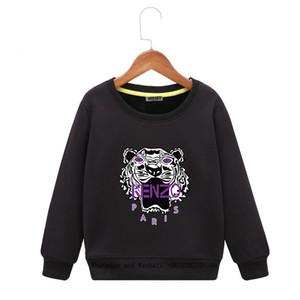 2020 Jungen Hoodie Gürtel Caps Neue Muster-Kind-koreanische Ausgabe Sleeve Kopf in der Babymäntel Jacken Freizeit aus reiner Baumwolle Tide Gut gemacht!