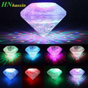 HaoXin 부동 수중 LED 디스코 빛 발광 쇼 수영장 연못 온수 욕조 스파 램프 방수 야외 파티 장식 빛