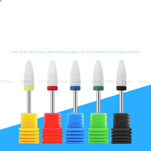 Ceramic Nail Drill Bit For electric manicure machine accessories Nail Art Tools Electric Manicure Cutter Nail File