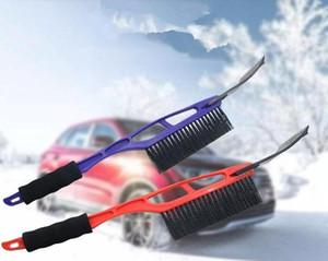 NEW سيارة مركبة دائم الثلج الجليد مكشطة الجليد فرشاة المجرفة إزالة لفصل الشتاء الشحن السريع