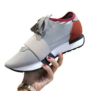 Fashion Luxury Men Designer Trainers Shoes Pointed Breathable Mesh Shoes Fashion Casual Shoes Sneakers Tennis Running Jogging Size5-11 Type6