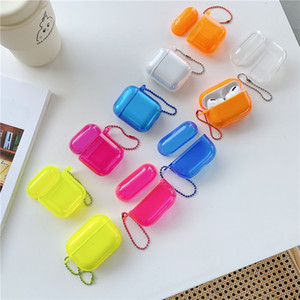 TPU di colore fluorescente di alta qualità per Airpods 1 2 3 Airpods Pro 5 colori facoltativi