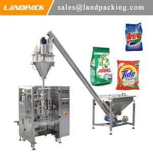 Multifunktionswaschpulver Desinfektionspulver Vertical Form Fill Seal Packmaschine 3 Seitensackversiegelung