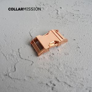 20mm pet yaka DIY Aksesuarları en kaliteli Çinko Alaşım Kaplama Metal toka CK20M için metal Kavisli Yan hızlı Yayın Toka