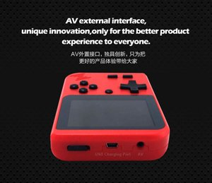 2019 New Retro Portable Mini Handheld Game Console 8-Bit 3.0 Inch Color LCD Kids Color Game Player Built-in 400 Games