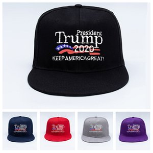 Trump hat neue 2020 Make America Great Again Donald Trump Baseballmütze Hip-Hop Hut eigene Stickerei-Partei-Hüte T2C5217
