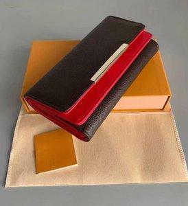 New Brand Luxury Wallet Women's Handbag Passport Holder Genuine Leather Cell Phone Wallet Purse fashion women designer Wallet
