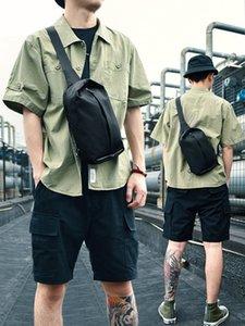 Men's casual bags chest pack 2019 new fashion tide brand man bag shoulder bag Messenger bag small backpack male ins