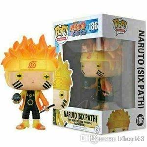 Kawaii Kawaii Brand new NEW ARRIVAL Naruto (Six Path) #186 Funko Pop Vinyl Figure NARUTO Shippuden Toy Gift Xmas