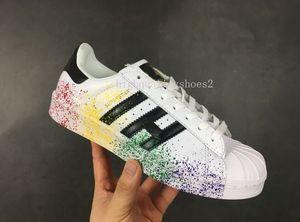 Adidas Superstar smith Femmes Chaussures Et Hommes Chaussures Nouvelle Arrivee Style D'ete 13 couleurs Populaires Chaussures Causales Eur36-44 Belle o982