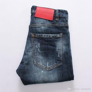19ss Mode Männer Jeans gerade Biker Röhrenjeans Freizeithose Cowboy berühmte Marke Reißverschluss Designer heißer Verkauf Mens Designer Jeans DN07
