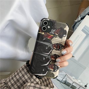 Fashion iphonex case11pro Max carry coffin iphonex brother 8plus trend new xr 8 8P 7 7P suitable for silicone mobile phone protection case-1
