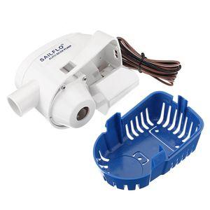12V 1100GPH 빌지 워터 펌프 잠수정 플로트 스위치