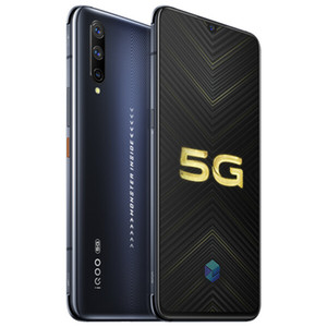 """Vivo d'origine iQOO Pro 5G Téléphone mobile 12Go RAM 128Go ROM Snapdragon 855 plus Octa Android de base 6,41"""" 48.0MP Face ID d'empreintes digitales téléphone portable"""