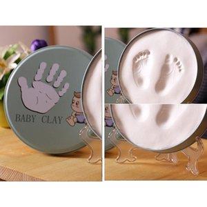 1pcs neuestes Baby Hand-Abdrücke neugeborene Baby-Hand-Fuß-Inkpad Foto-Rahmen-Baby Hand und Fuß Ink Inkpad Bilderrahmen Geschenk