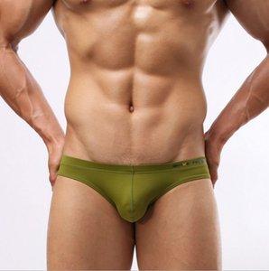 New Boy Swim Breve mens cintura baixa cuecas boxer de design criativo fatos de banho Boxer Shorts Maillot de bain maiô atacado