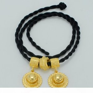 Anniyo Ethiopian National Jewelry set Necklace Earrings Bangle Ring Gold Color Habesha Jewelry sets,Africa Wedding #045806